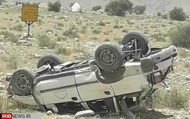 مرگ پزشک جوان در واژگونی خودروی شبکه بهداشت بستک